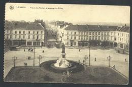 +++ CPA - LEUVEN - LOUVAIN - Place Des Martyrs Et Avenue Des Alliés - Nels   // - Leuven