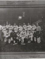 "Champions Eastern Ontario Baseball League, 1949 Brockville Memo's  13.6"" X 11.6"" 30.5 Cm X 29 Cm Names Given - Sports"