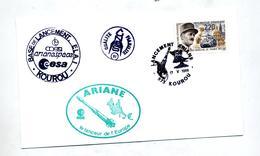 Lettre Cachet Kourou Lanceur Ariane - Lettres & Documents