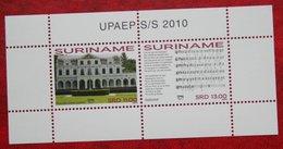 Surinam / Suriname 2010 UPAEP Minisheet (ZBL 1743 Mi Block 110)  POSTFRIS / MNH ** - Surinam
