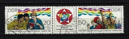 DDR - Mi-Nr. 2959 - 2960 Weltfestspiele Der Jugend Und Studenten Moskau Gestempelt (2) - [6] República Democrática