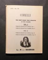 Musica Spartiti - A. Corelli - The Forty-eight Trio Sonatas - Vol. 1 - Vecchi Documenti