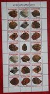 Surinam / Suriname 2010 Schelpen Shells Muscheln Coquilles Complete Sheet (ZBL 1685-1694 Mi 2361-2370) POSTFRIS / MNH ** - Surinam