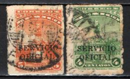 """MESSICO - 1932 - MONUMENTO A COLOMBO CON SOVRASTAMPA """"SERVICIO OFICIAL"""" - USATI - Messico"""