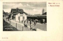 Bahnhof Herisau - AR Appenzell Outer-Rhodes