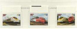 PIA  -  BELGIO  -  1998  : Treni  - (Yv  C.P. 471-73) - Treni