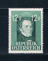 Austria 491 MNH Franz Schubert 1947 (A0234)+ - Autriche