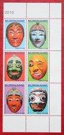 Surinam / Suriname 2010 Maskers Mask Maschere Masques (ZBL 1764-1769  Mi 2441-2446) POSTFRIS / MNH ** - Surinam