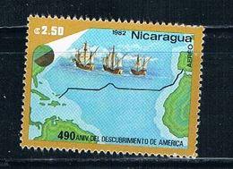 Nicaragua C1027 MNH Trans Voyage (N0252)+ - Nicaragua