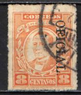 MESSICO - 1927 - BENITO JUAREZ CON SOVRASTAMPA OFICIAL - USATO - Messico