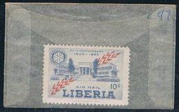 Liberia C97 Unused Rotary International 1955 (L0618) - Liberia