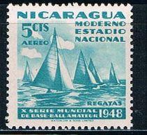 Nicaragua C300 MNH Regatta (N0379)+ - Nicaragua