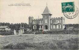 CPA 85 Vendée LES SABLES D'OLONNE - Propriété Nina D'Asty - Forêt D'Olonne Chateau Manoir - Sables D'Olonne