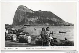 Gibraltar. Vue Sur Le Rocher - Gibraltar