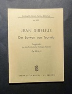 Musica Spartiti - Jean Sibelius - Der Schwan Von Tuonela - Op. 22 Nr. 2 - Vecchi Documenti