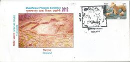 Special Cover India ,Chirand Archaeological Site,Large Pre-historic Mound, Pashan Age,Situated At Bank Of River Ghaghra - Archéologie