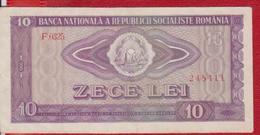 Roumanie Billets 10 Lei 1966 Circule - Rumania