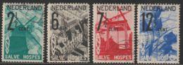 Nederland 1932  NVPH Nr. 244-247  Used  ANVV - Periode 1891-1948 (Wilhelmina)