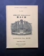 Musica Spartiti - J. S. Bach - Cantatas Nos. 80-82 - Volume XXIV - Orchestra - Vecchi Documenti