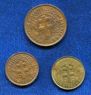 3 PIECES COLONIES FRANCAISES - Colonies