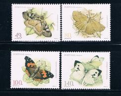 Portugal Madeira 191-94 MNH Set Butterflies 1997 CV 4.40 (P0294)+ - Madère