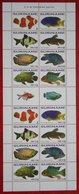 Surinam / Suriname 2010 POISSONS TROPICAUX FISH VIS VISSEN Complete Sheet (ZBL 1756-1763 Mi 2433-2440) POSTFRIS / MNH ** - Surinam