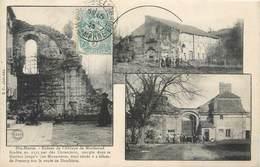 CPA 52 Haute Marne MORIMOND - LES RUINES DE L'ABBAYE - Multi Vues - France