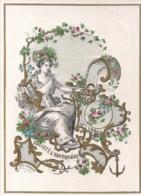 NAMUR,NAMEN-PORCELEINKAART,CARTE PORCELAINE-SOCIETE L'ESPERANCE-LITHO CARBOTTE NAMUR 200/145MM - Cartes Porcelaine
