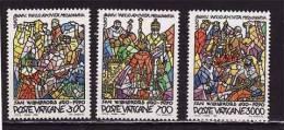 VATICAN  1990  N 875 / 77 Neuf X X Série Compl. - Vatican