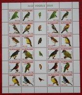 Surinam / Suriname 2010 Complete Sheet Birds Vogel Oiseaux Pajaro (ZBL 1717-1728 Mi 2393-2404)   POSTFRIS / MNH ** - Surinam