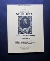 Musica Spartiti - Heinrich Schuetz - Biblical Histories - Vol. II - Vecchi Documenti