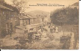 BOHAN Sur Semois - Rue Du Ruisseau - Manufacture De Tabacs De La Semois. NESTOR LEFEVRE - Circulé - 2 Scans - Vresse-sur-Semois