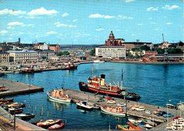 FINLANDE. Carte Postale écrite. Helsinki-Helsingfors. - Finlande