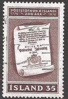1976 35k Postal Service, Used - 1944-... Republique