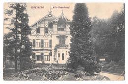 Bad Godesberg Villa Rosenburg Cachet Mont Saint St Guibert 1909 Stamp - Bonn