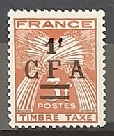 REUNION - TAXE - N° 38 - Neuf AVEC Charnière * / MM - Posta Aerea