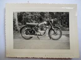 MOTO  Photo Originale Moto BSA 500 - Années 1950 - TBE - Photographs
