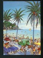 CPM - PASEO MARITIMO - LA COSTA BRAVA - JOHN LODI - - Other Illustrators