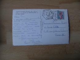 Crest Voland Recette Auxiliaire Obliteration Sur Lettre - Marcophilie (Lettres)