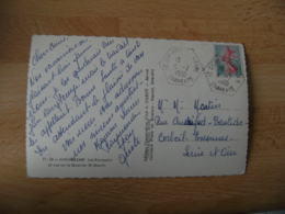 Saint Ciers Sur Bonnieure Recette Auxiliaire Obliteration Sur Lettre - Marcophilie (Lettres)