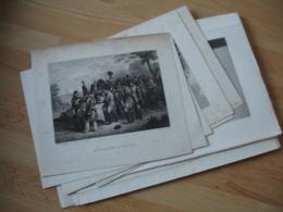Empire Napoleon Bonaparte Imperatrice Bataille Lot De 16 Gravure - Estampes & Gravures