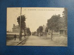 CPA 02 SAINT QUENTIN AVENUE DE LA REPUBLIQUE - Saint Quentin