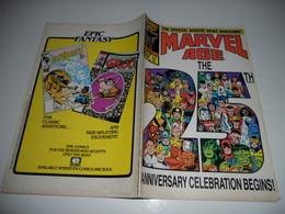 Marvel Age The 25th Anniversary Celebration Begins N°37   EN V O - Magazines