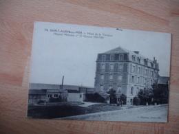 Guerre 14.18 Hopital Militaire 32 Hotel De La Terasse Saint Aubin Sur Mer - Guerre 1914-18