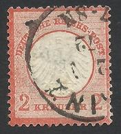 Germany, 2 Kr. 1872, Sc # 8a, Mi # 8, Used - Allemagne