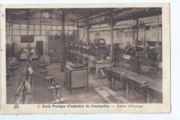 Cpa -  Algerie         Constantine     Ecole Pratique D'industrie - Constantine