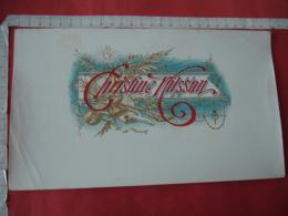 Christine Wilson  Etiquette Boite Cigare Cigares - Etiquettes