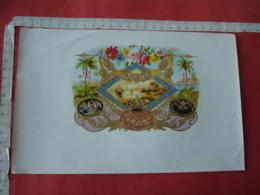 Aigle Medaillepaysage   Etiquette  Cigare Cigares - Etiquettes