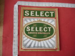 Gaufree Select Etiquette  Cigare Cigares - Etiquettes