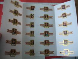 Lot 24  Bague   Cigare Cigares Guerre 14.18  Officier Generaux Amiraux - Cigar Bands
